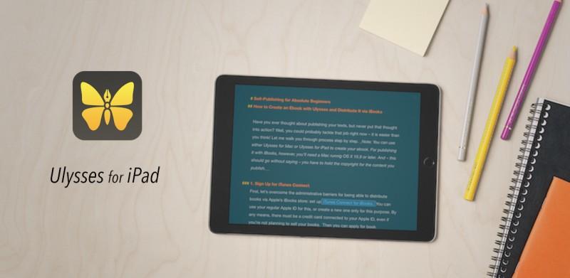 Ulysses for iPad 简单体验