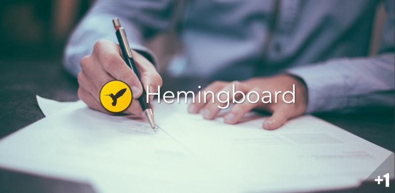 快速写出优雅的英文句子:写作助手 Hemingboard丨App+1