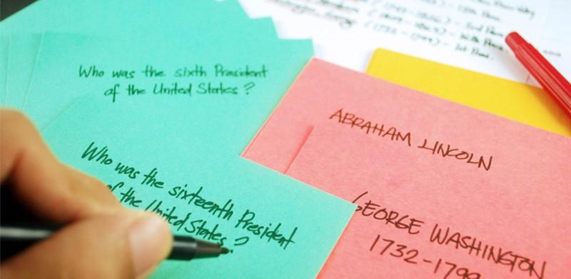 死记硬背的学习哪会有效率,你该尝试科学的「抽认卡」记忆法