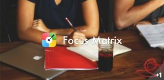 Focus Matrix,给堆积如山任务分出个「轻重缓急」丨App+1