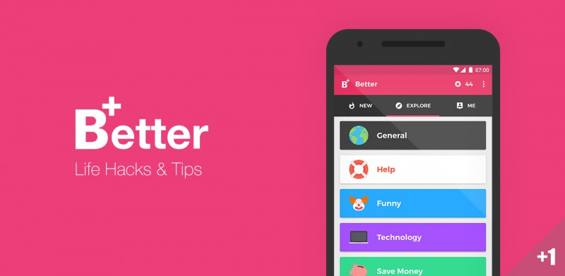Better,在这里你能找到有用但冷门的小知识丨App+1