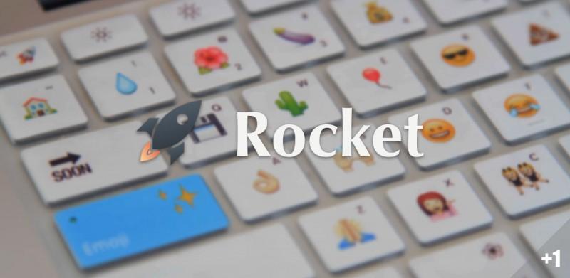 Rocket,在 Mac 上输 Emoji,这样比较快   App + 1