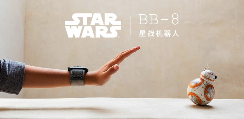 穿越银河来陪你:Sphero 战斗型 BB-8 Droid 机器人 | 新玩意 · Apple Store