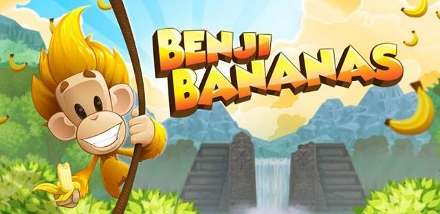 可爱的休闲游戏:猴子香蕉