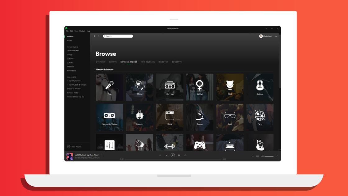 Spotify 曲风与情调 下面的歌单由官方提供,质量非常高