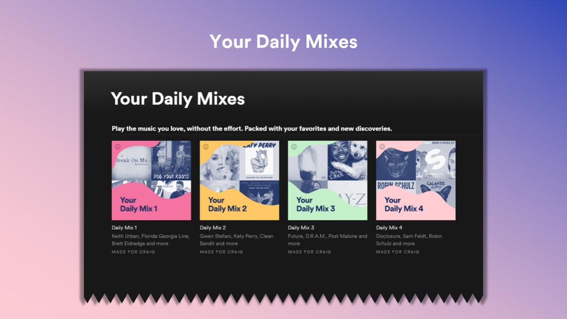 Daily Mixes