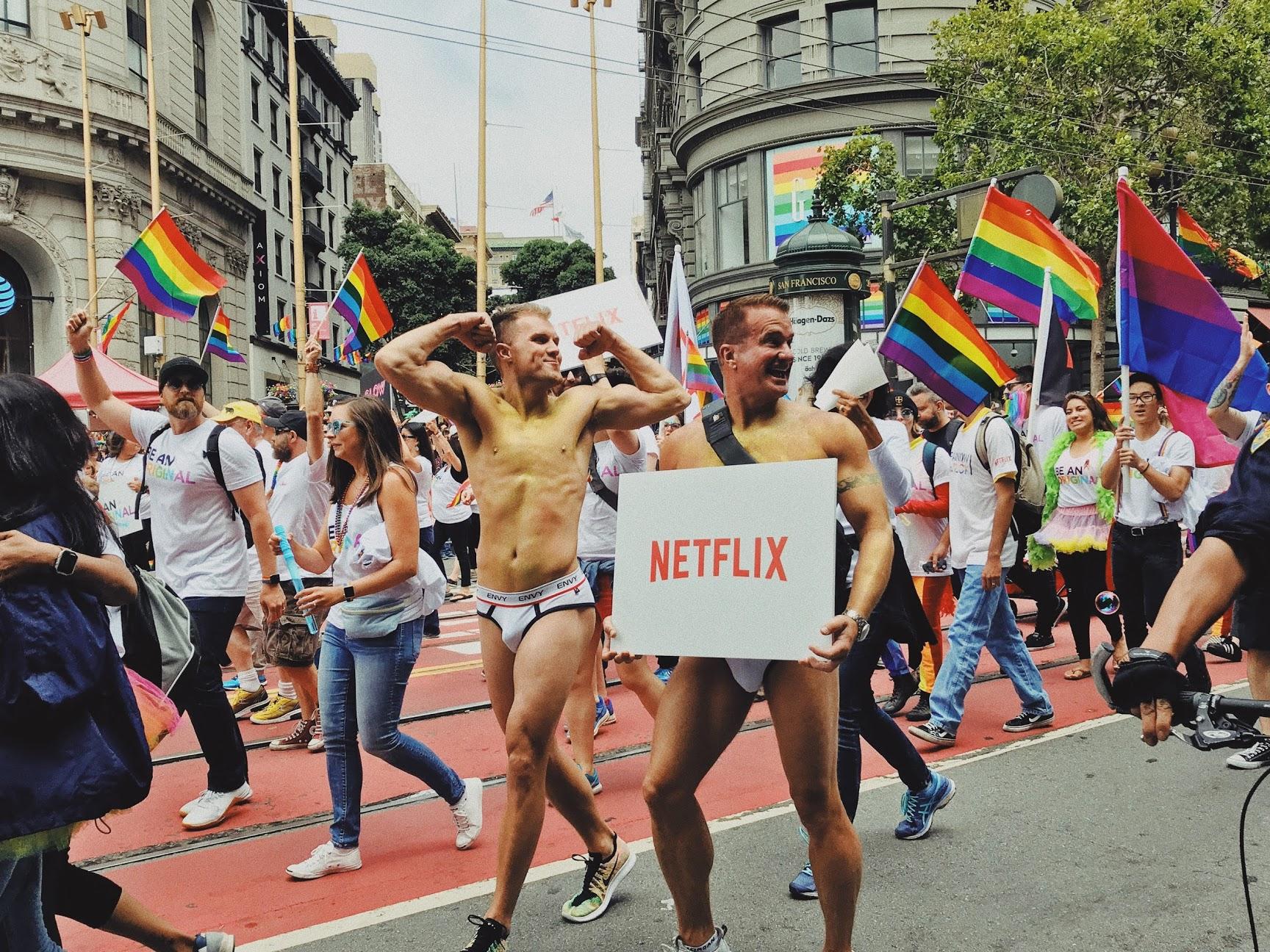 SF Pride 游行与 VSCO X 的使用体验