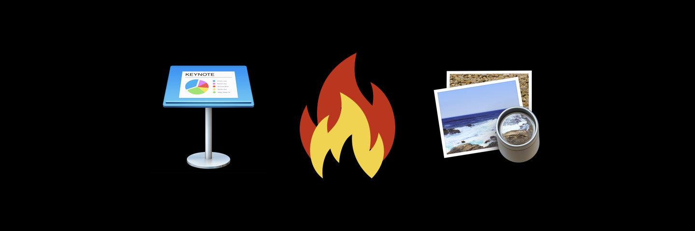 Keynote vs 预览:原生简单图片标注对决