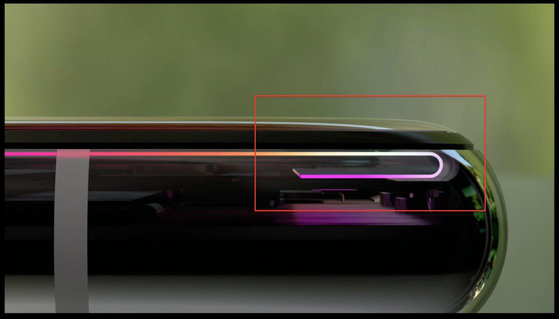 「折叠」技术是真的把屏幕折起了一段
