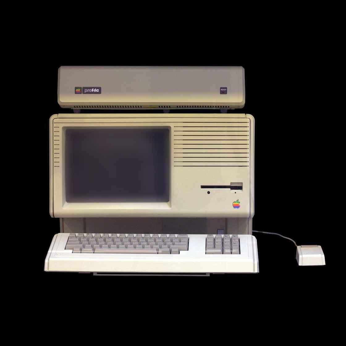 头顶 ProFile 扩展系统的 Lisa 2 主打扩展性(配置小幅升级),理念十分超前但销量依旧惨淡