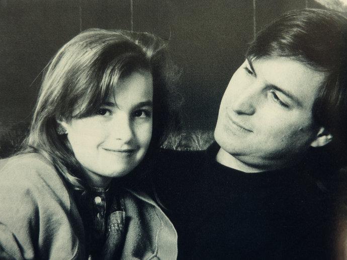 Steve Jobs 和他的女儿 Lisa