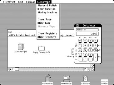 Lisa 创新的图形用户界面可以说是当时最为先进的,没有之一