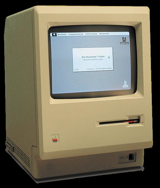 初代 Macintosh ,发布于 1984 年 1 月