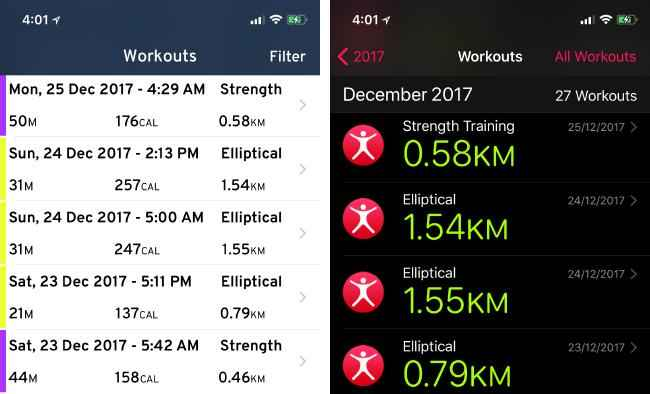Workouts++;Workout