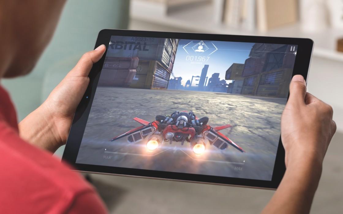 新款 iPad Pro 的图像性能比上代提升了 40%