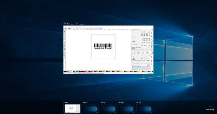 Windows 10 切换虚拟桌面