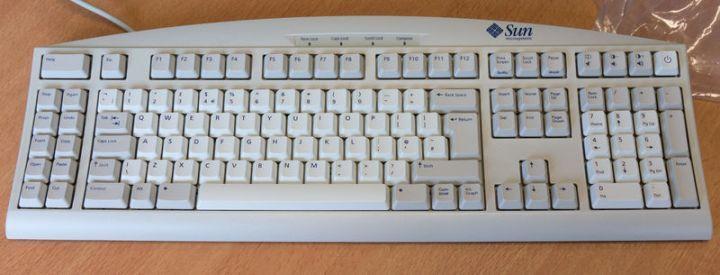 Sun Type-6 键盘,图 / deskthority