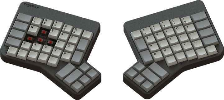 Ergodox 键盘,图 / Ergodox