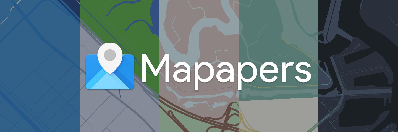 用这个壁纸 App,做一张独一无二的壁纸:Mapapers | App+1