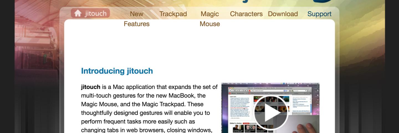 如何让MacBook 触控板用起来更爽——Jitouch