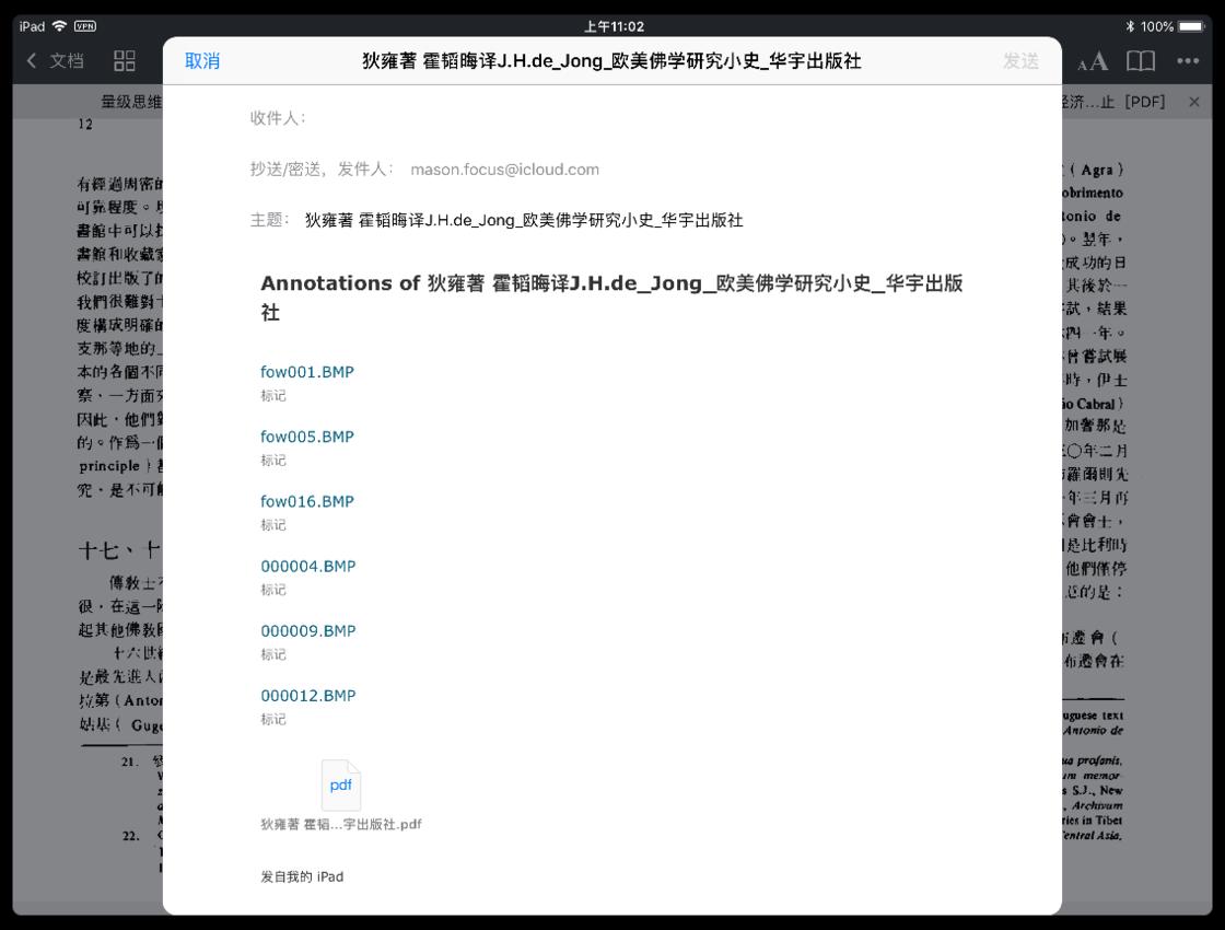 图6 PDF Expert 图形标记输出