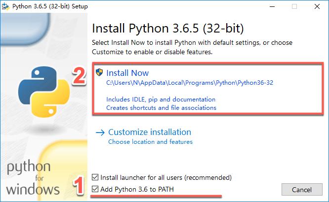 Win10安装Python