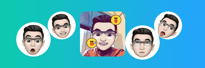 可能是 iOS 12 上最好玩的新功能,用 Memoji 把自己的脸捏成表情包