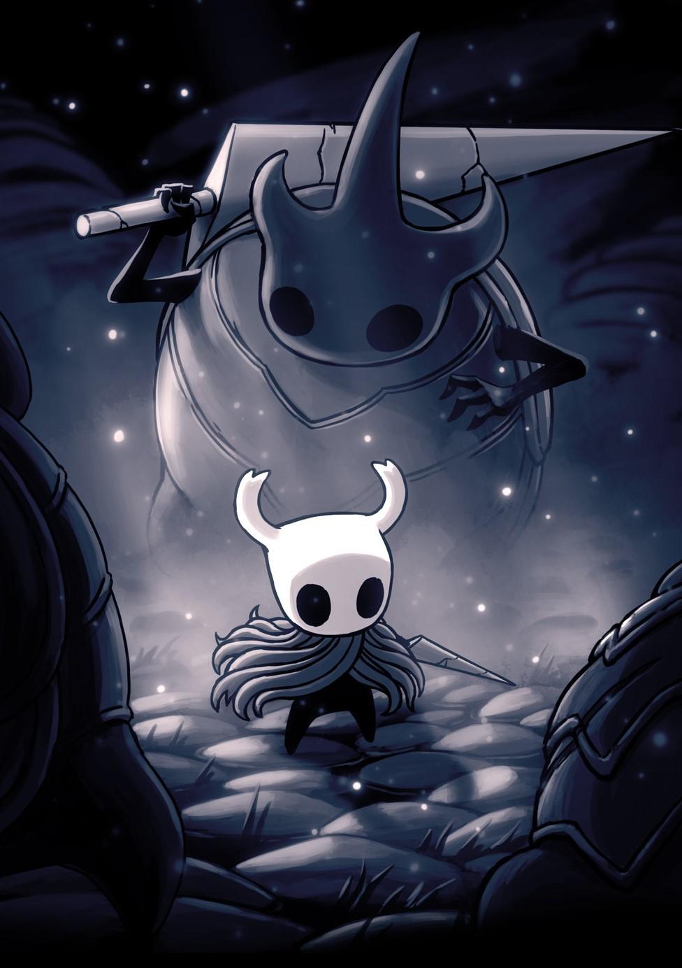 别被它可爱手绘画风骗了,这可能是 NS 上最难的独立游戏:空洞骑士
