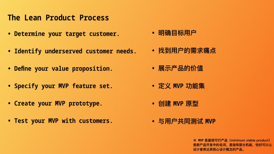 精益产品流程