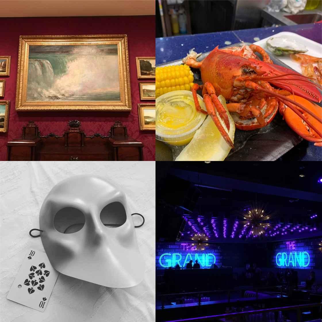 博物馆、龙虾、歌剧、蹦迪...