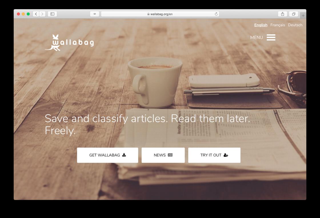 Wallabag 项目主页