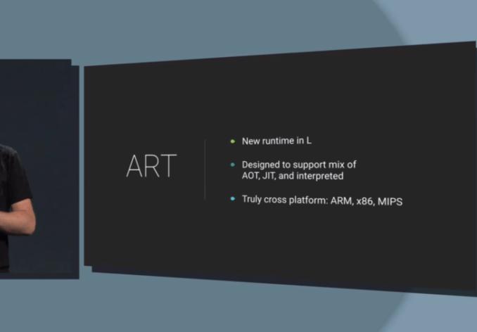 Google 通过引入 ART 运行时来提升编译效率