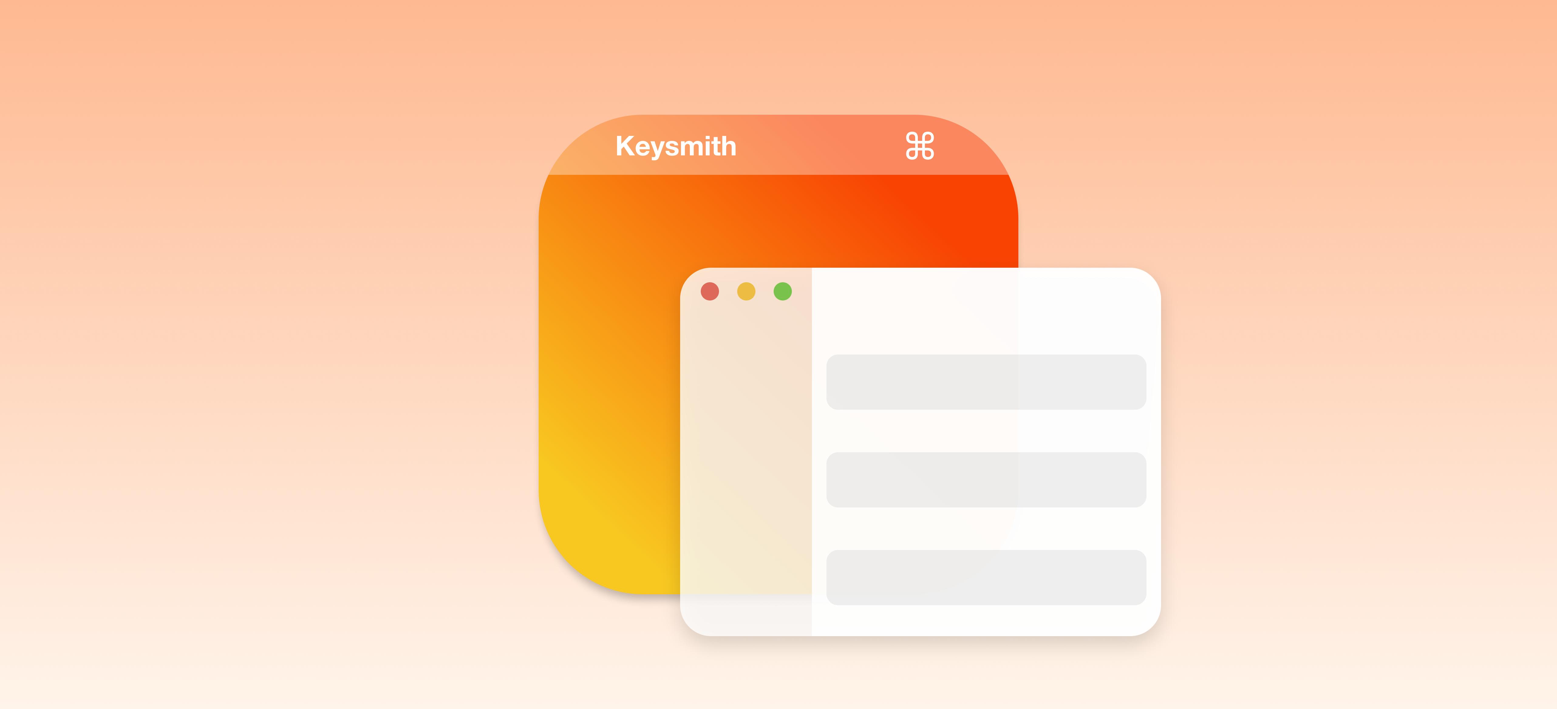 Keysmith:录制并重现你的操作