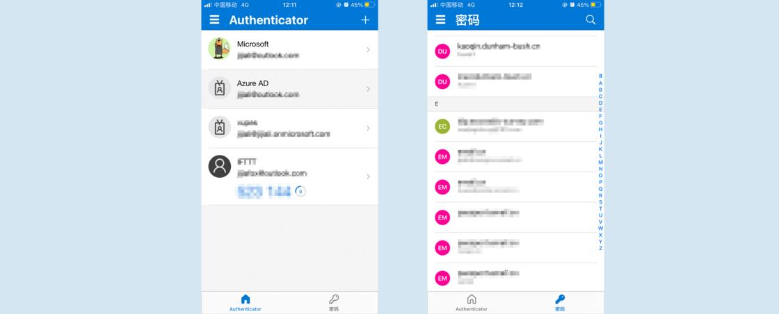 密码管理,多一种选择—— Microsoft Authenticator插图(1)