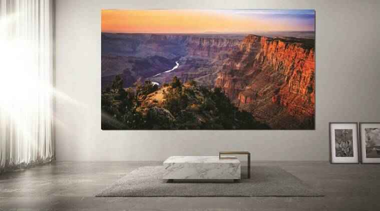 Samsung brings 'The Wall' microLED display to India: What is microLED  technology? | Technology News,The Indian Express