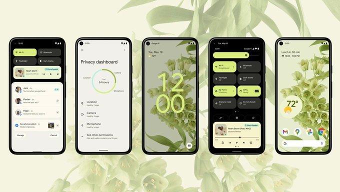 Android 12 尝鲜指南:OEM 测试版资讯汇总