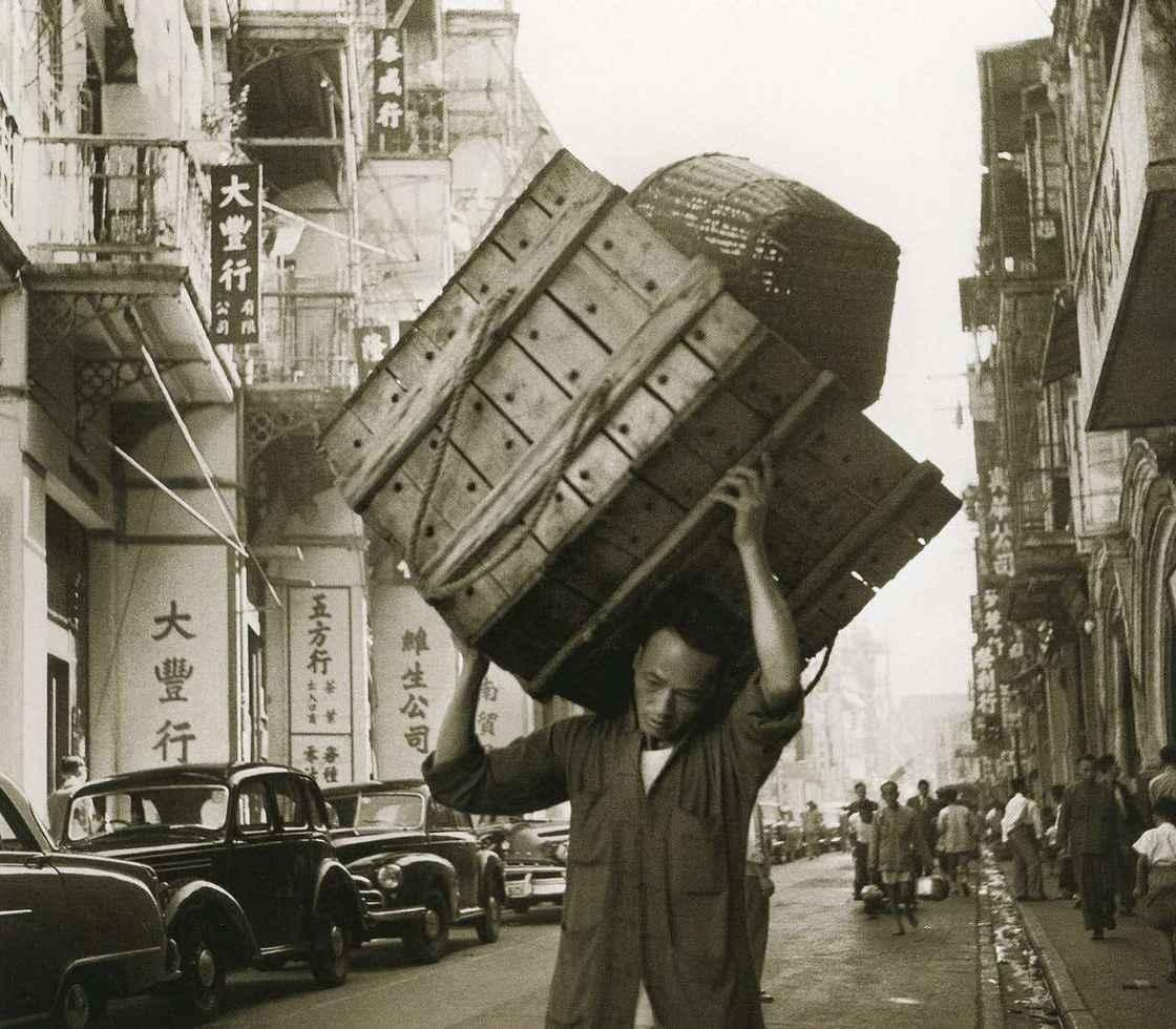 Man Carrying Box (1959)