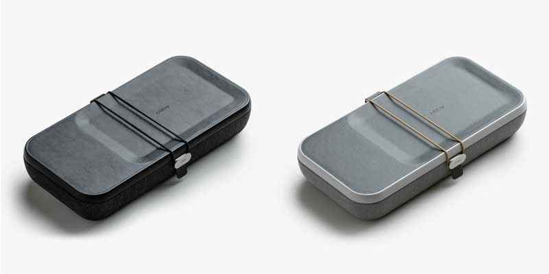 Two colour options of the orbitkey nest