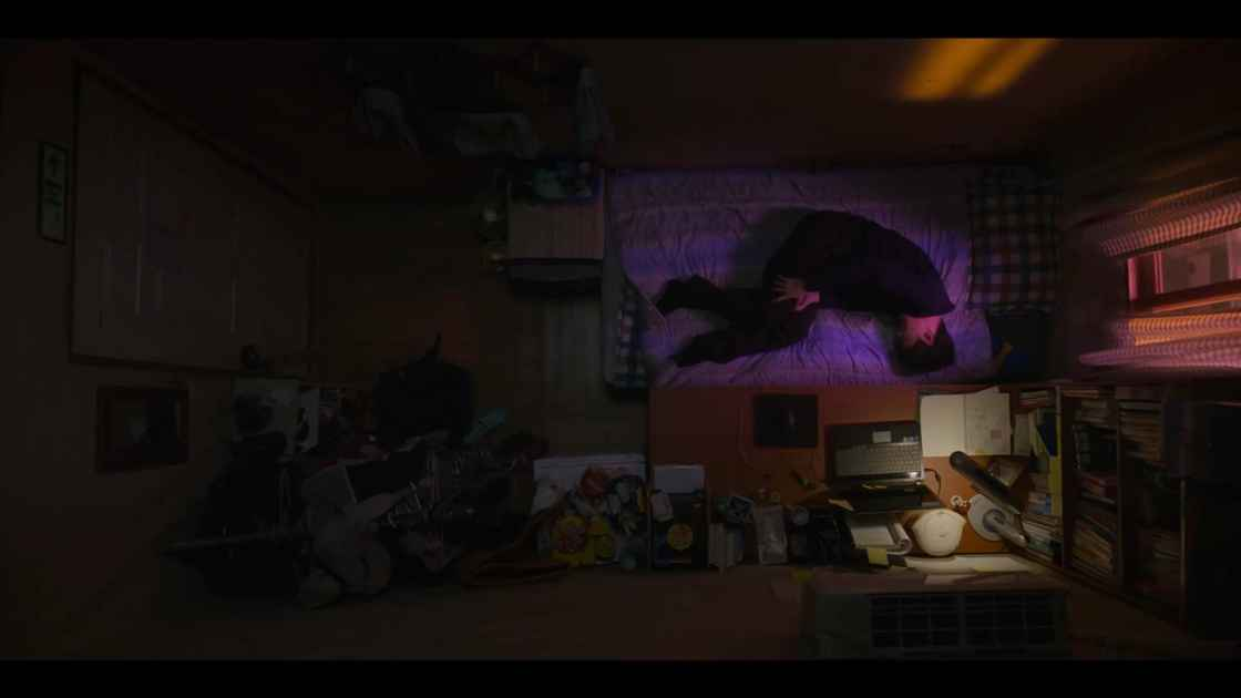 《我是遗物整理师》第一集中在出租屋孤独死去的金宣宇