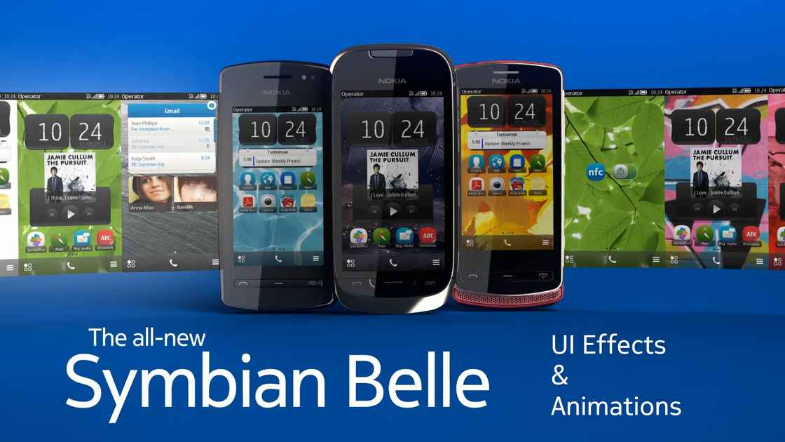 """Symbian Belle custom theme effects, """"Anna"""" on 5230 and Animation/UI effects  Rant : My Nokia Blog - 200"""