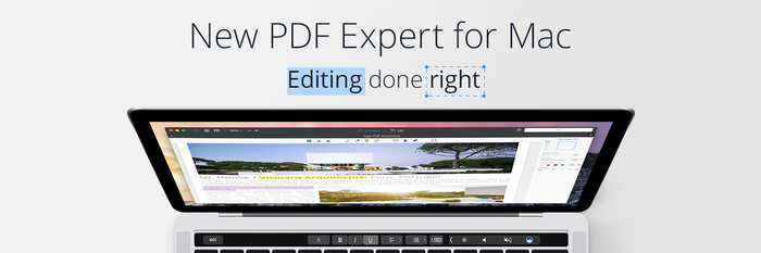 多方面提升文档编辑效率:PDF Expert for Mac 2.2 更新
