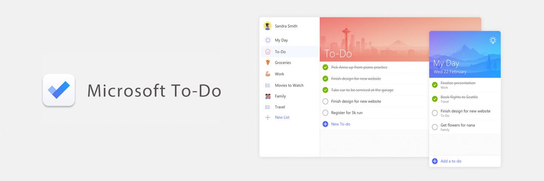 奇妙清单原班人马打造的轻量任务管理:Microsoft To-Do