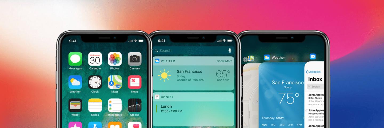取消了 Home 键的 iPhone X,交互方式都有哪些变化?