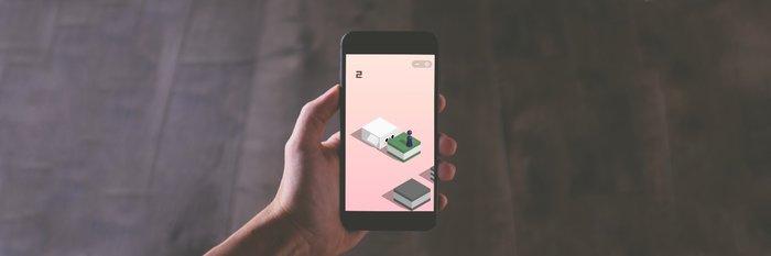 如何在微信小游戏「跳一跳」中轻松得分破百-吐槽福利