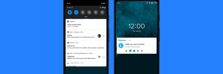 无关通知延后推送,这款应用能帮你更好地专注工作:Daywise   App+1