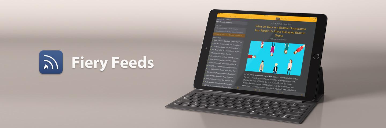 唯一完全支持 iOS 外接键盘操作的 RSS 阅读器:Fiery Feeds 深度测评