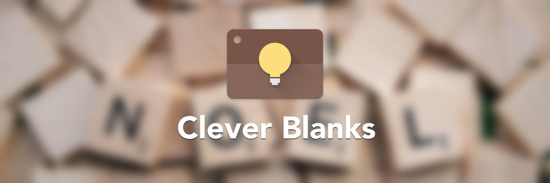 Clever Blanks,即使你不玩猜词游戏,也能用它来学英语丨App+1