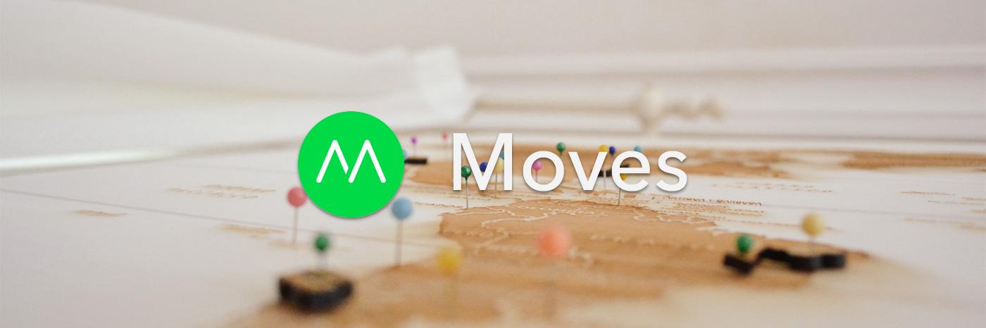 记录下你每一天的运动轨迹:Moves