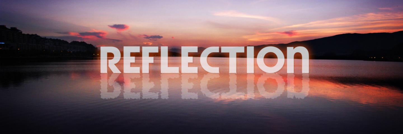 水中映月,回清倒影:Reflection