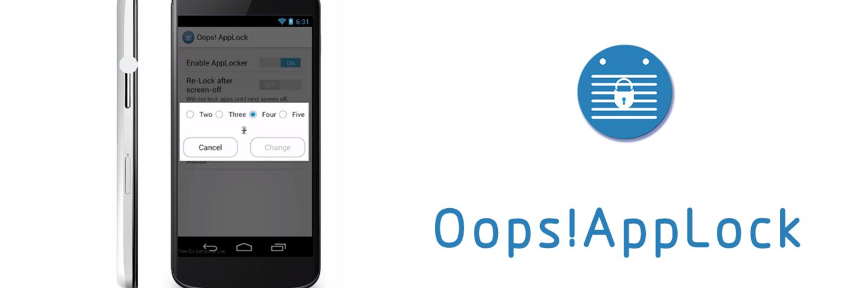 是音量键,更是隐形密码:Oops AppLock